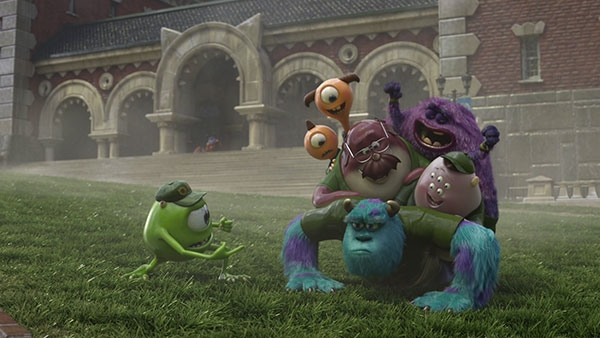 Film Freak Central Monsters University 2013 Collector S Edition Blu Ray Dvd Digital Copy