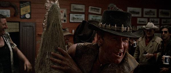 Film Freak Central Crocodile Dundee 1986 Crocodile Dundee Ii 1988 Double Feature Blu Ray Disc