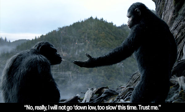 Film Freak Central Dawn Of The Planet Of The Apes 2014