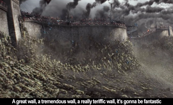 Film Freak Central The Great Wall 2016