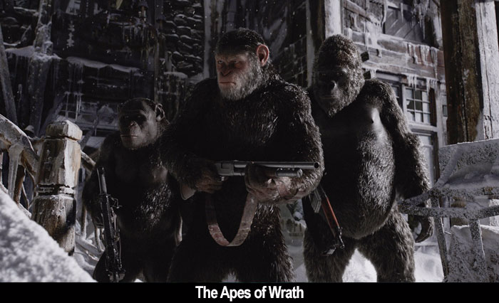 Film Freak Central War For The Planet Of The Apes 2017